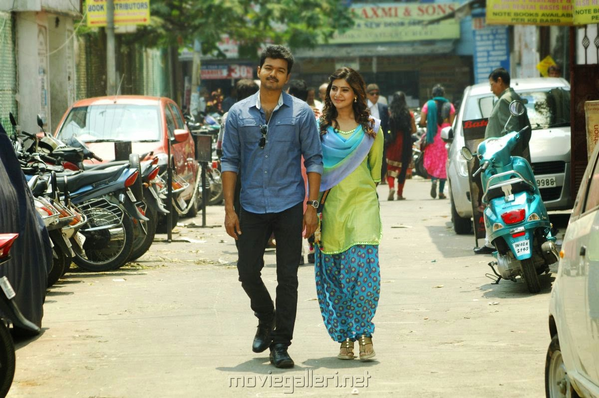 Picture 766632 | Vijay, Samantha in Kathi Telugu Movie ...