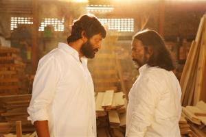 Kishore & Master Rajanayagam in Kathir Tamil Movie Stills