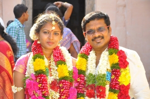 Director Kathir Shanthinidevi Wedding Photos