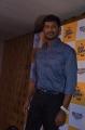 Actor Vishal @ Kaththi Sandai Trailer Launch Stills