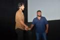 Gautham Karthik, KE Gnanavel Raja @ Katteri Movie First Look Launch Stills