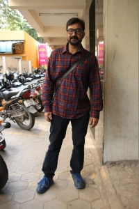 Aravind Akash @ Katteri Movie Pooja Stills