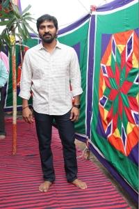 Actor Vaibhav Reddy @ Katteri Movie Pooja Stills