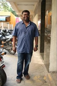 Editor Praveen KL @ Katteri Movie Pooja Stills