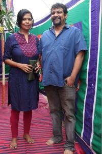 Pushkar–Gayathri @ Katteri Movie Pooja Stills