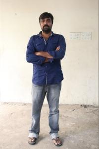 Balaji Tharaneetharan @ Katteri Movie Pooja Stills