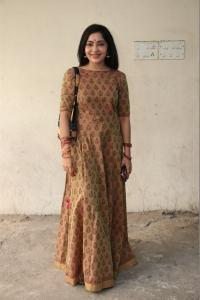 Ramya @ Katteri Movie Pooja Stills