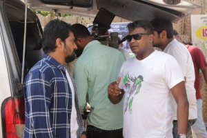 Vaibhav, Deekay @ Katteri Movie Shooting Stills HD