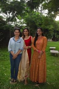 Actress Srushti Dange @ Kattil Movie Pooja Stills