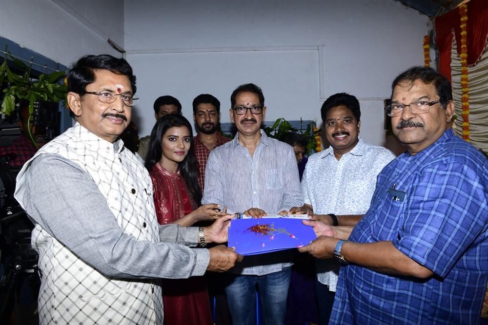 Murali Mohan, KS Rama Rao @ Kausalya Krishnamurthy Cricketer Movie Opening Stills