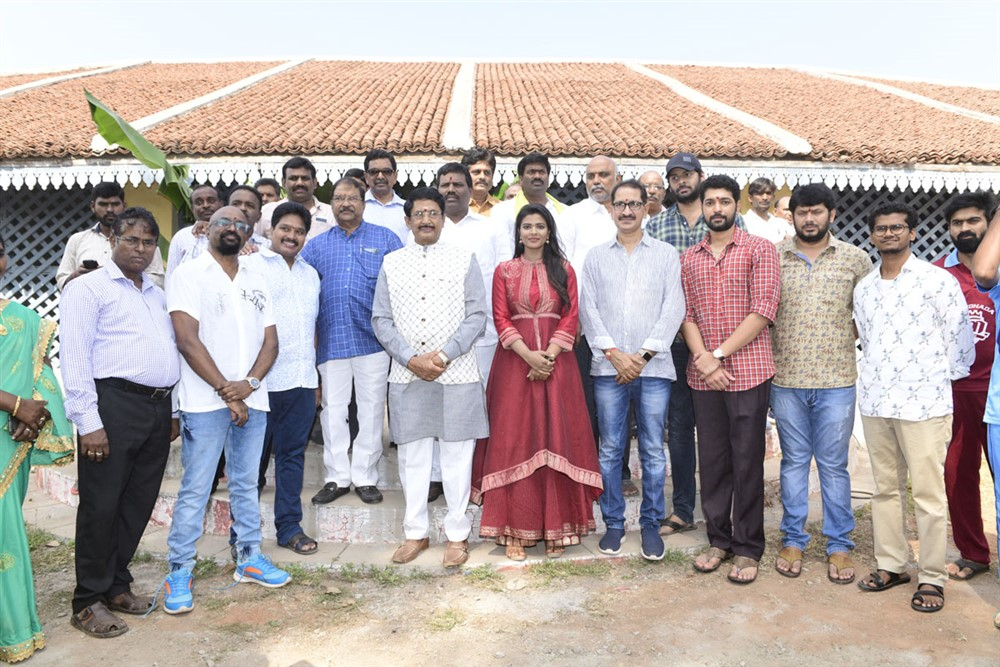 Kausalya Krishnamurthy Cricketer Movie Opening Stills