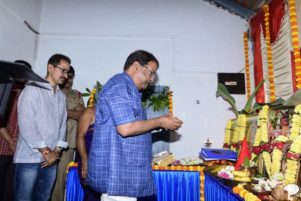 KS Rama Rao @ Kausalya Krishnamurthy Cricketer Movie Opening Stills