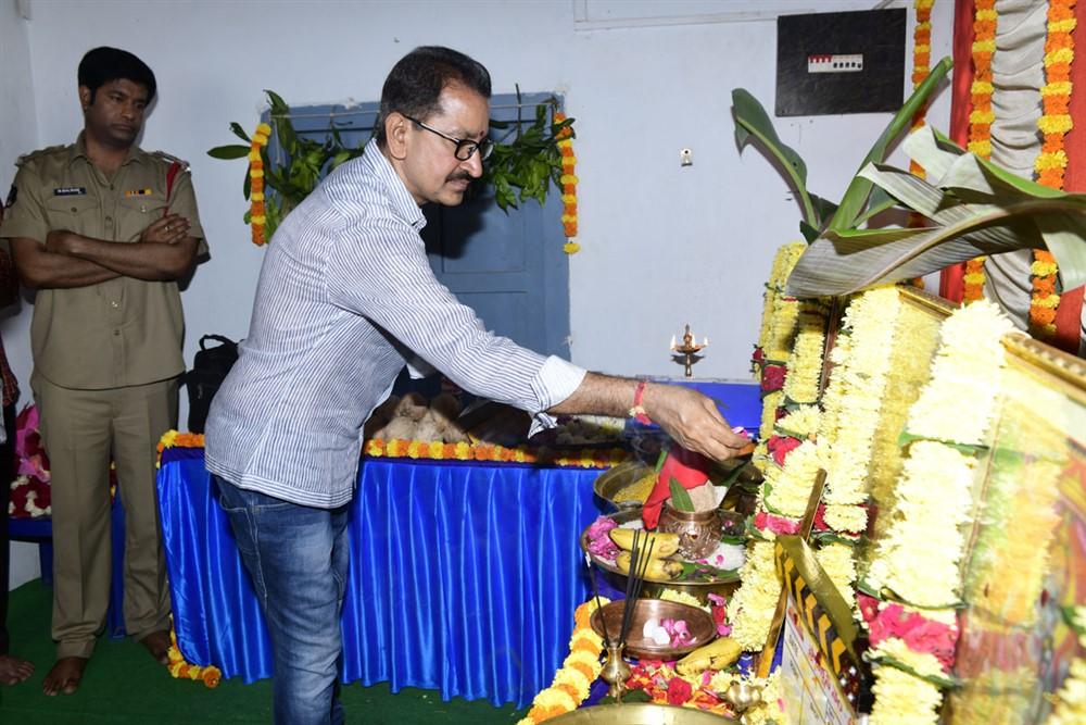 Bhimaneni Srinivasa Rao @ Kausalya Krishnamurthy Cricketer Movie Opening Stills