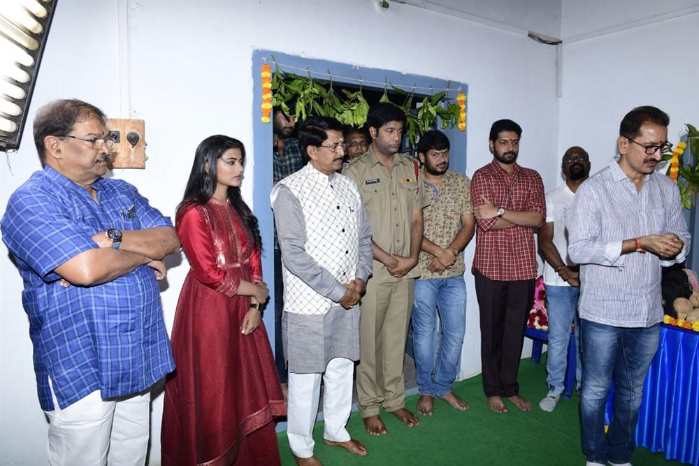 Kausalya Krishnamurthy Cricketer Movie Opening Stills