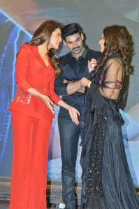 Mehreen, Bellamkonda Sreenivas, Kajal @ Kavacham Movie Teaser Launch Photos