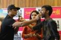 Jiiva, Sunaina, Leon James @ Kavalai Vendam Audio Release @ Suryan FM Stills