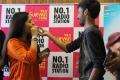 Sunaina, Leon James @ Kavalai Vendam Audio Release @ Suryan FM Stills