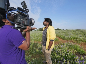 Hero Vijay Sethupathi @ Kavan Movie Working Stills
