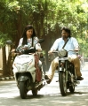 Madonna Sebastian, Vijay Sethupathi in Kavan Movie New Photos