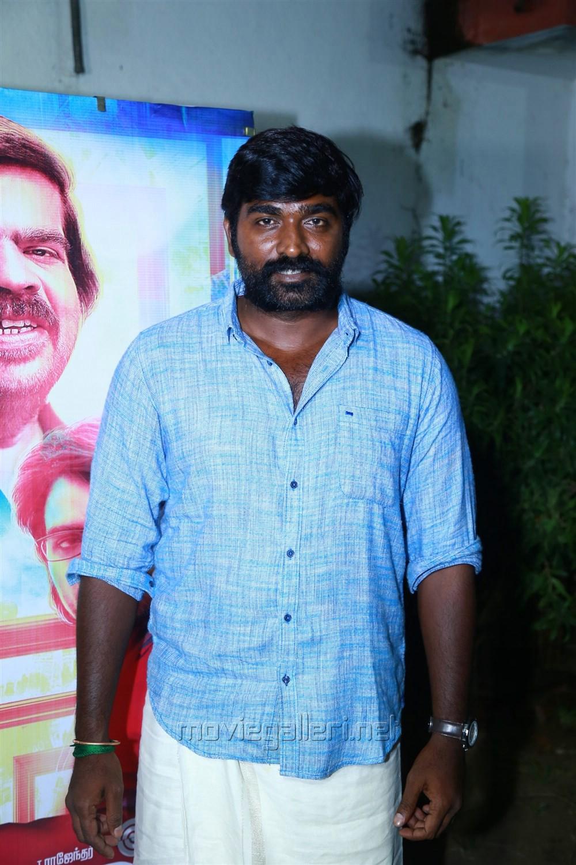 Actor Vijay Sethupathi @ Kavan Movie Press Meet Stills