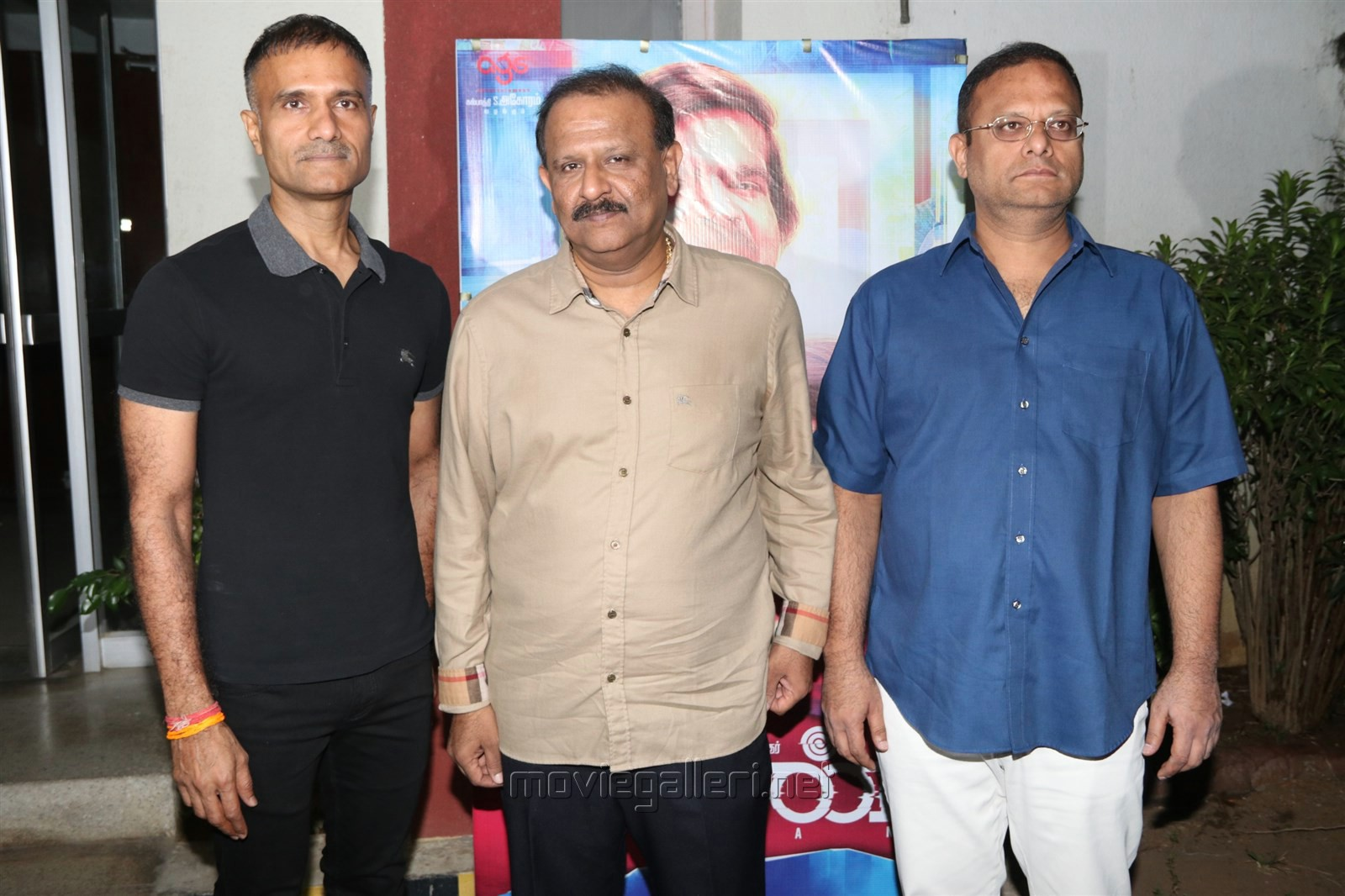 Kalpathi S. Aghoram, Kalpathi S. Ganesh, Kalpathi S. Suresh @ Kavan Movie Press Meet Stills