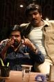 T Rajendar, Vijay Sethupathi in Kavan Tamil Movie Stills