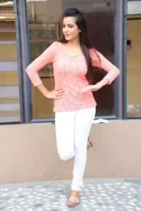 Actress Diksha Panth @ Kavvintha Movie Team Meet Stills