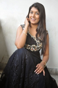 Actress Kavya Kumar Pictures @ Hrudaya Kaleyam Platinum Function