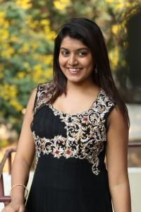 Telugu Heroine Kavya Kumar at Hrudaya Kaleyam Platinum Disc Function