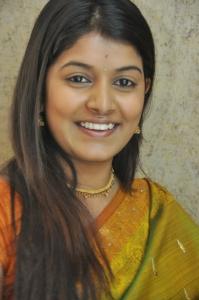 Kavya Kumar @ Hrudaya Kaleyam Success Meet in Kalamandir