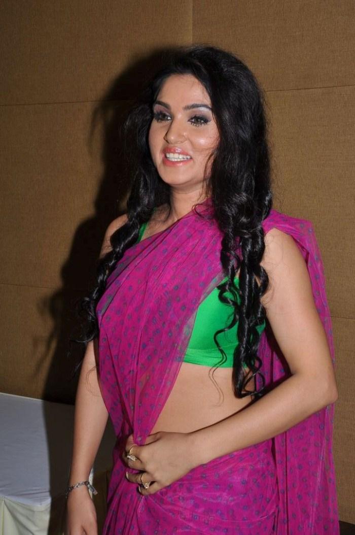 Kavya Singh Pink Saree Kavya Singh in Pink Saree Hot