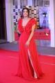 Actress Kavya Thapar Stills in Red Dress @ Mirchi Music Awards South 2018