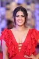 Actress Kavya Thapar Stills in Red Dress @ Mirchi Music Awards South 2017
