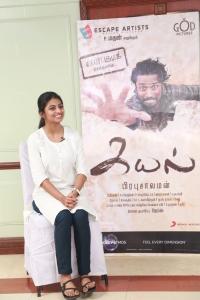 Actress Rakshita @ Kayal Movie Team Interview Photos