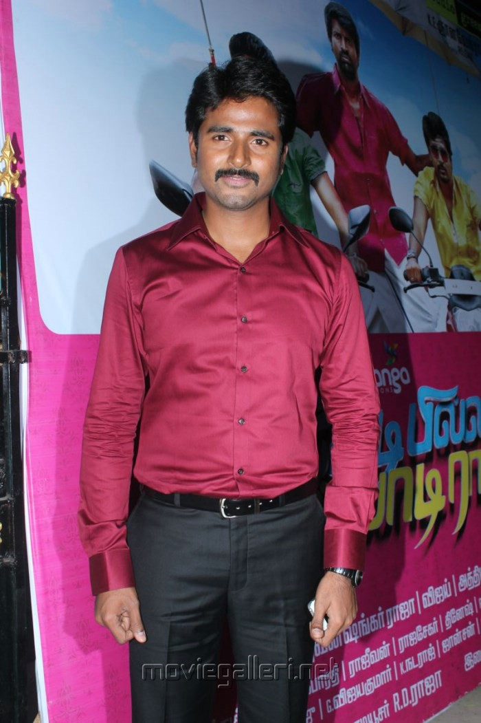 Actor Sivakarthikeyan at Kedi Billa Killadi Ranga Movie Press Meet Stills