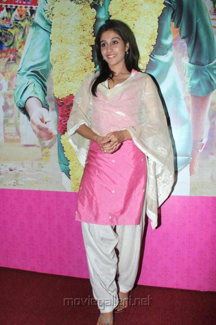 Actress Regina Cassandra at Kedi Billa Killadi Ranga Movie Press Meet Stills