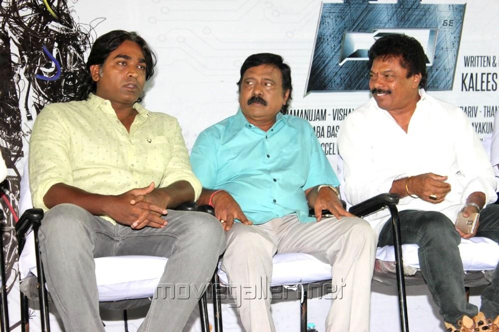 Vijay Sethupathi, RV Udayakumar, Jaguar Thangam @ Kee Movie Audio Launch Stills