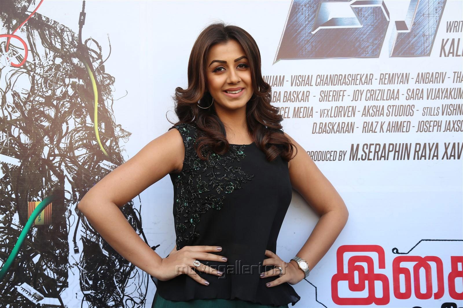 Actress Nikki Galrani @ Kee Movie Audio Launch Stills