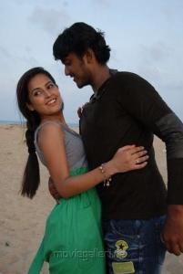 Disha Pandey, Ajmal Khan in Keeripulla Tamil Movie Stills