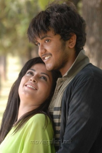 Ajmal Khan, Disha Pandey in Keeripulla Movie Photos