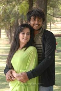 Disha Pandey, Ajmal Khan in Keeripulla Movie Hot Photos