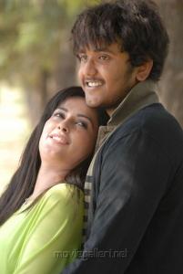 Disha Pandey, Ajmal Khan in Keeripulla Tamil Movie Hot Photos