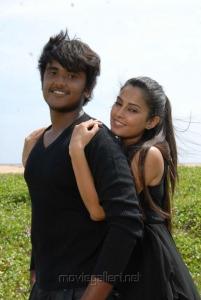 Ajmal Khan, Disha Pandey in Keeripulla Tamil Movie Hot Stills