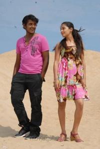 Ajmal Khan, Disha Pandey in Keeripulla Movie Hot Stills
