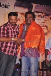 Prabhu Solomon, Saravanan at Keeripulla Movie Live Stunt Show Stills