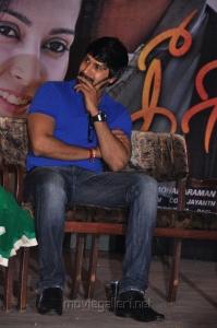 Actor Ramana at Keeripulla Movie Live Stunt Show Stills