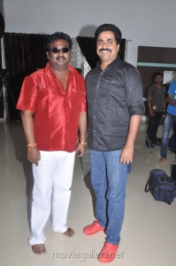 Saravanan, Firosekhan at Keeripulla Movie Press Meet Stills