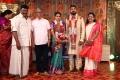 SA Chandrasekar, Shoba @ Parthiban daughter Keerthana Akshay Wedding Photos