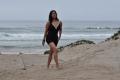 Tamil Actress Keerthi Chawla New Hot Stills in Black Swimsuit