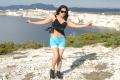 Tamil Actress Keerthi Chawla New Hot Stills in Black Dress